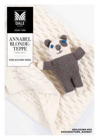 Dale Garn Pure Eco Baby Wool - Annabel Blondeteppe