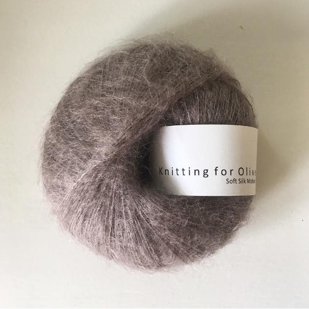 Knitting for Olive Soft Silk Mohair Taupe