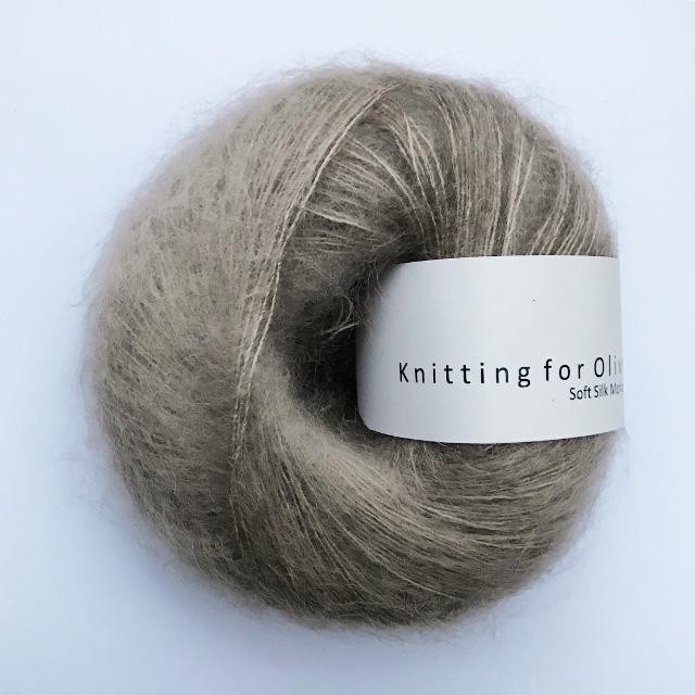 Knitting for Olive Soft Silk Mohair Hør