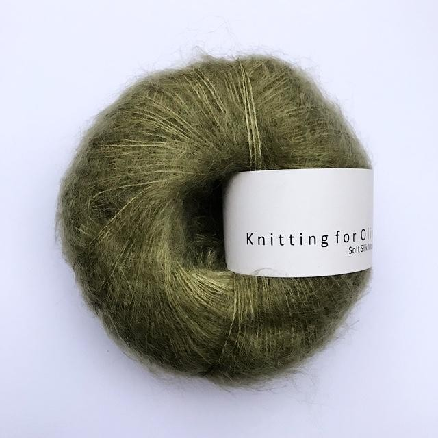 Knitting for Olive Soft Silk Mohair Oliven