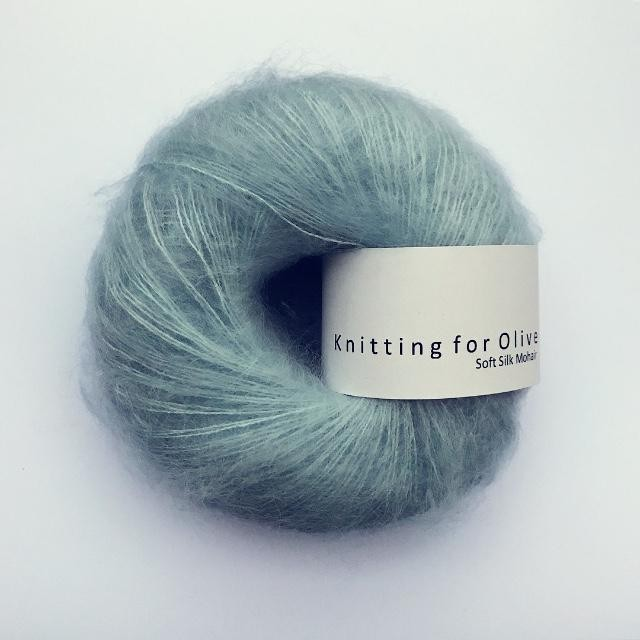 Knitting for Olive Soft Silk Mohair Himmel