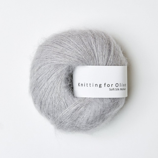Knitting for Olive Soft Silk Mohair Zink