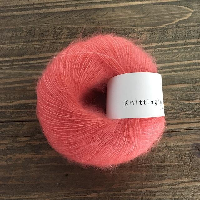 Knitting for Olive Soft Silk Mohair Koral