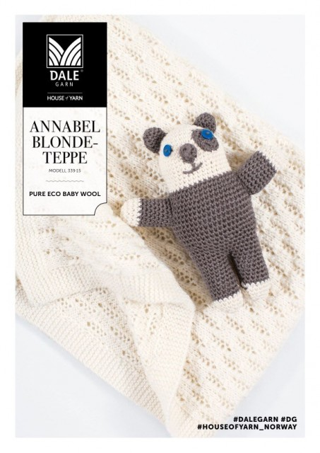 Dale Garn Pure Eco Baby Wool - Annabel Blondeteppe.