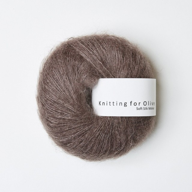 Knitting for Olive Soft Silk Mohair Blomme-Ler