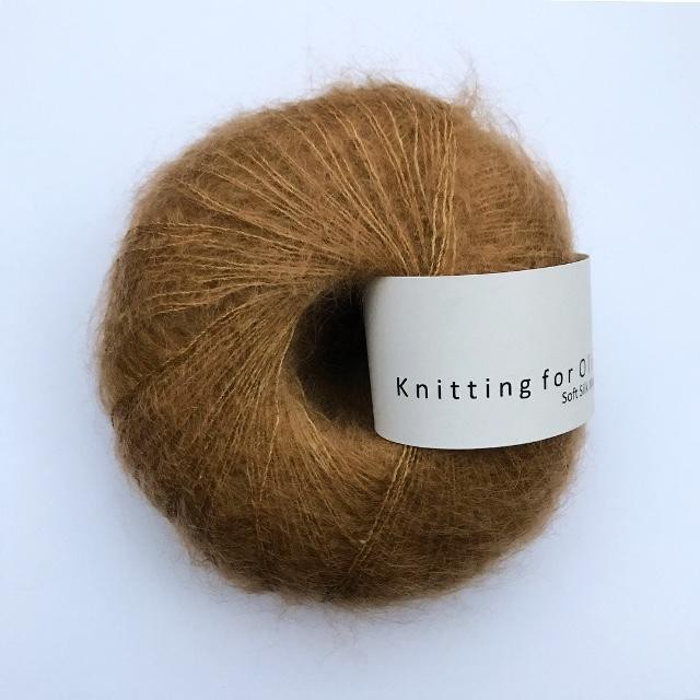 Knitting for Olive Soft Silk Mohair Karamel