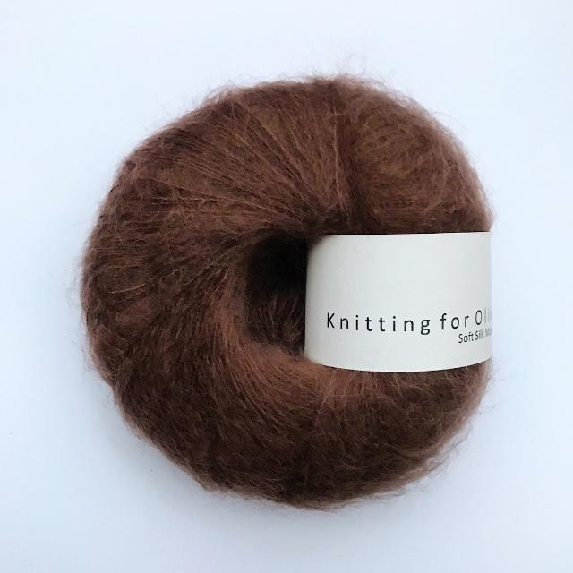 Knitting for Olive Soft Silk Mohair Chokolade